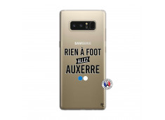 Coque Samsung Galaxy Note 8 Rien A Foot Allez Auxerre