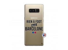Coque Samsung Galaxy Note 8 Rien A Foot Allez Barcelone