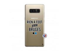 Coque Samsung Galaxy Note 8 Rien A Foot Allez Bruges