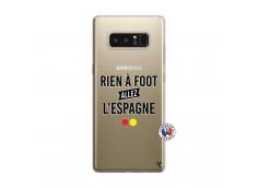 Coque Samsung Galaxy Note 8 Rien A Foot Allez L'Espagne