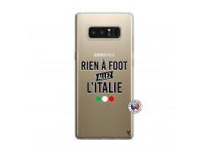 Coque Samsung Galaxy Note 8 Rien A Foot Allez L'Italie