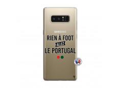Coque Samsung Galaxy Note 8 Rien A Foot Allez Le Portugal