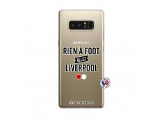 Coque Samsung Galaxy Note 8 Rien A Foot Allez Liverpool
