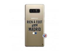 Coque Samsung Galaxy Note 8 Rien A Foot Allez Madrid