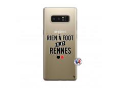 Coque Samsung Galaxy Note 8 Rien A Foot Allez Rennes