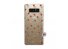 Coque Samsung Galaxy Note 8 Rose Pattern