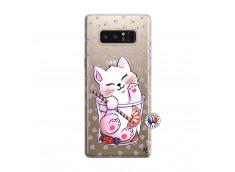 Coque Samsung Galaxy Note 8 Smoothie Cat