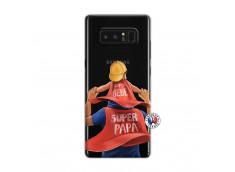 Coque Samsung Galaxy Note 8 Super Papa et Super Bébé