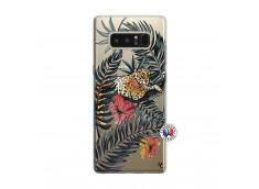 Coque Samsung Galaxy Note 8 Leopard Tree