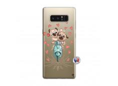 Coque Samsung Galaxy Note 8 Puppies Love