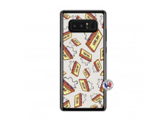 Coque Samsung Galaxy Note 8 Vintage Tape Translu