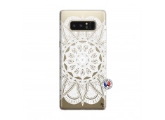 Coque Samsung Galaxy Note 8 White Mandala