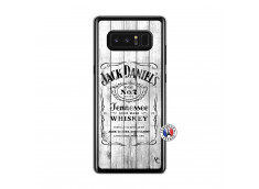 Coque Samsung Galaxy Note 8 White Old Jack Translu