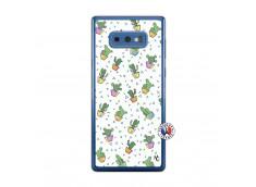 Coque Samsung Galaxy Note 9 Le Monde Entier est un Cactus Translu