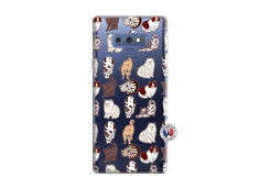 Coque Samsung Galaxy Note 9 Cat Pattern
