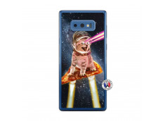 Coque Samsung Galaxy Note 9 Cat Pizza Translu