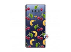 Coque Samsung Galaxy Note 9 Hey Cherry, j'ai la Banane