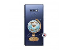 Coque Samsung Galaxy Note 9 Globe Trotter