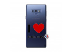 Coque Samsung Galaxy Note 9 I Love Toulouse