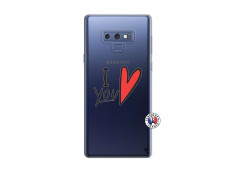Coque Samsung Galaxy Note 9 I Love You