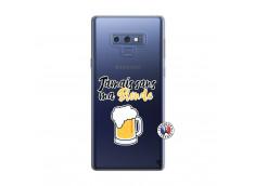 Coque Samsung Galaxy Note 9 Jamais Sans Ma Blonde