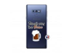 Coque Samsung Galaxy Note 9 Jamais Sans Ma Brune