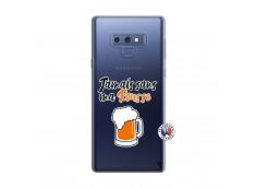 Coque Samsung Galaxy Note 9 Jamais Sans Ma Rousse