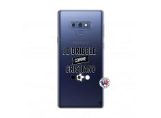 Coque Samsung Galaxy Note 9 Je Dribble Comme Cristiano
