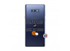 Coque Samsung Galaxy Note 9 Je m'en bats Les Noix De Coco