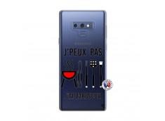 Coque Samsung Galaxy Note 9 Je Peux Pas J Ai Barbecue