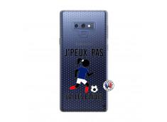 Coque Samsung Galaxy Note 9 Je Peux Pas J Ai Les Bleues Maillot