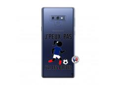 Coque Samsung Galaxy Note 9 Je Peux Pas J Ai Les Bleues