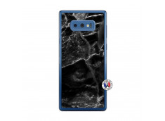 Coque Samsung Galaxy Note 9 Black Marble Translu