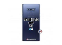 Coque Samsung Galaxy Note 9 Marseillais à Vie