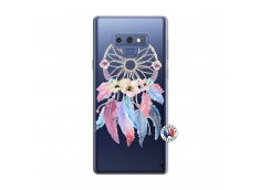 Coque Samsung Galaxy Note 9 Multicolor Watercolor Floral Dreamcatcher