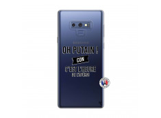 Coque Samsung Galaxy Note 9 Oh Putain C Est L Heure De L Apero