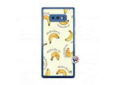 Coque Samsung Galaxy Note 9 Sorbet Banana Split Translu