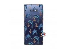 Coque Samsung Galaxy Note 9 Dauphins