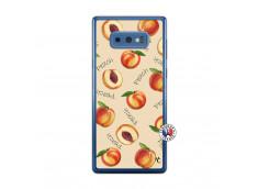 Coque Samsung Galaxy Note 9 Sorbet Pêche Translu