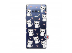 Coque Samsung Galaxy Note 9 Petits Chats