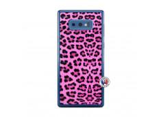 Coque Samsung Galaxy Note 9 Pink Leopard Translu
