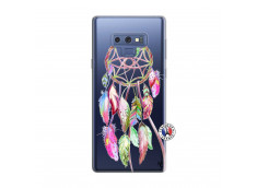 Coque Samsung Galaxy Note 9 Pink Painted Dreamcatcher