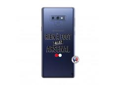 Coque Samsung Galaxy Note 9 Rien A Foot Allez Arsenal