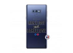 Coque Samsung Galaxy Note 9 Rien A Foot Allez Barcelone