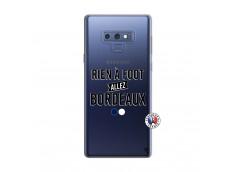 Coque Samsung Galaxy Note 9 Rien A Foot Allez Bordeaux