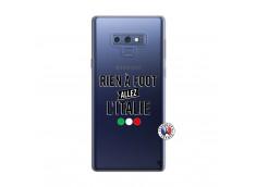 Coque Samsung Galaxy Note 9 Rien A Foot Allez L'Italie