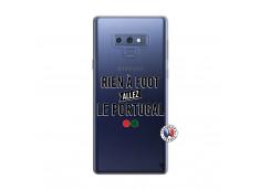 Coque Samsung Galaxy Note 9 Rien A Foot Allez Le Portugal
