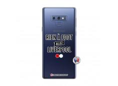Coque Samsung Galaxy Note 9 Rien A Foot Allez Liverpool