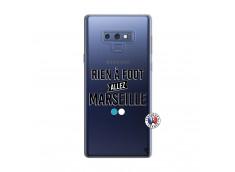 Coque Samsung Galaxy Note 9 Rien A Foot Allez Marseille