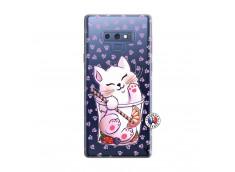 Coque Samsung Galaxy Note 9 Smoothie Cat